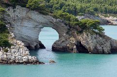 Gargano Coast Royalty Free Stock Photo