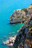 Gargano coast, Apulia, Italy royalty free stock images