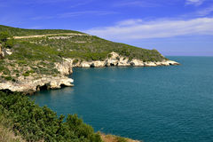 Gargano coast.  Royalty Free Stock Photo