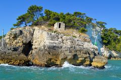 Gargano coast Stock Photos