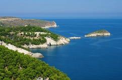Gargano coast Royalty Free Stock Images