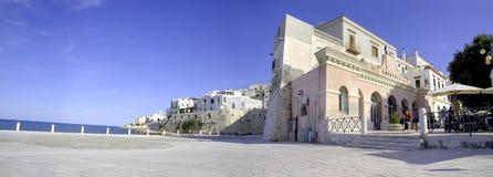 Gargano Puglia Italia di Vieste panoramica Fotografia Stock Libera da Diritti