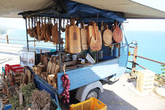 Gargano typical stall Royalty Free Stock Photos
