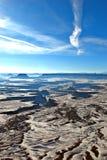 A garganta aterra o parque nacional Fotografia de Stock