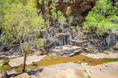 Garganta Australia de los valles Fotografía de archivo libre de regalías