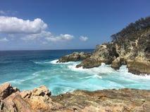 Garganta Australia del océano imagen de archivo