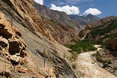Garganta Cotahuasi, Peru fotografia de stock royalty free