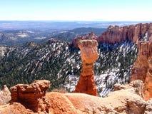 Garganta da água, Bryce Canyon na luz do sol Foto de Stock Royalty Free