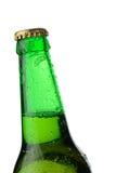 Garganta da cerveja do frasco Imagem de Stock Royalty Free