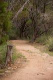 Garganta da fuga de caminhada de Eagles Imagem de Stock