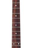 Garganta da guitarra elétrica imagens de stock