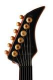 Garganta da guitarra isolada Fotos de Stock