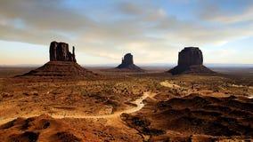 Garganta da paisagem Imagens de Stock