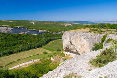 Garganta da pedra calcária e dal Foto de Stock