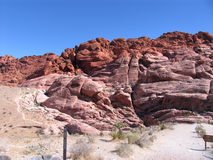 Garganta da rocha, Colorado Imagem de Stock