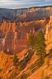 Garganta de Bryce do nascer do sol Fotos de Stock Royalty Free
