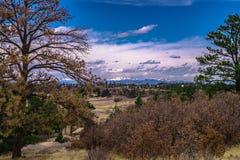 Garganta de Castlewood em Colorado foto de stock royalty free