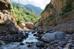 Garganta de Colca na região de Arequipa foto de stock