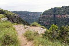 Garganta de desatención del Kloof del sitio de la visión en Durban Suráfrica imagen de archivo