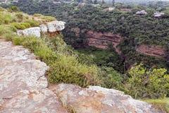Garganta de desatención del Kloof del sitio de la visión en Durban Suráfrica imagenes de archivo