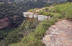 Garganta de desatención del Kloof del sitio de la visión en Durban Suráfrica fotografía de archivo