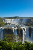 Garganta de Foz de Iguaçu ou de diabos Foto de Stock
