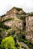 Garganta de Glenwood em Colorado Fotografia de Stock