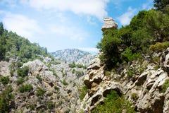 Garganta de Goynuk, parque natural nacional imagem de stock