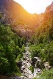 Garganta de Goynuk, parque natural nacional Fotografia de Stock