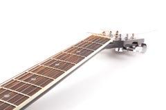 Garganta de guitarra acústica Foto de Stock Royalty Free