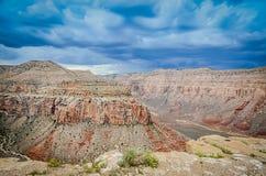 Garganta de Hualapai - Grand Canyon ocidental Imagem de Stock