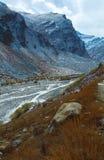 Garganta de la montaña Foto de archivo