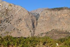 Garganta de la XA, isla de Crete, Grecia fotos de archivo