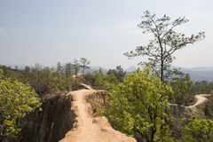 Garganta de Lan Kang Pai Pai, Tailândia Fotos de Stock