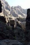 Garganta de Masca, Tenerife, Espanha imagens de stock royalty free