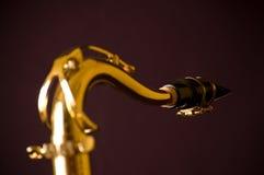 Garganta de meu saxofone imagens de stock royalty free
