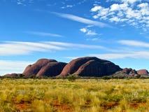 Garganta de Olgas do interior de Austrália Fotos de Stock Royalty Free