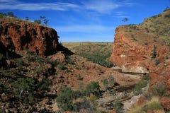 Garganta de Ormiston, Australia Imagen de archivo