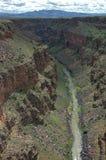 Garganta de Rio Grande Foto de archivo