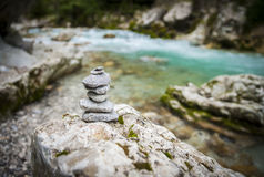 Garganta de Tolmin, naturaleza, Eslovenia Fotos de archivo libres de regalías