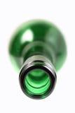 Garganta de um frasco de vinho Fotografia de Stock Royalty Free