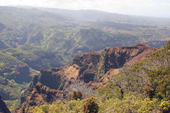 Garganta de Waimea, console de Kauai, Havaí Fotografia de Stock Royalty Free
