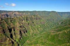 Garganta de Waimea - Kauai, Havaí, EUA Fotos de Stock