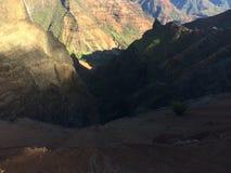 Garganta de Waimea na ilha de Kauai, Havaí Foto de Stock