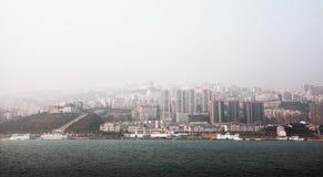 Garganta de Wu de China Chongqing Imágenes de archivo libres de regalías