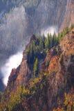 Garganta de Yellowstone Imagen de archivo