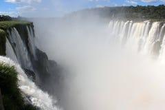 Garganta del Diablo. In Iguazu Falls in Argentina Royalty Free Stock Photos