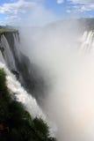 Garganta del Diablo. In Iguazu Falls in Argentina Stock Photography
