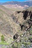Garganta del Diablo canyon. In north Argentina Royalty Free Stock Image