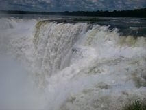 Garganta del diablo, Cataratas del Iguazu, Argentinië royalty-vrije stock fotografie